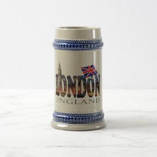 London England 18 Oz Beer Stein