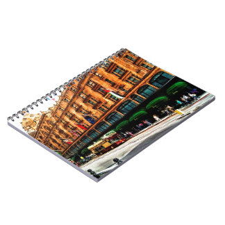 London England Spiral Note Books