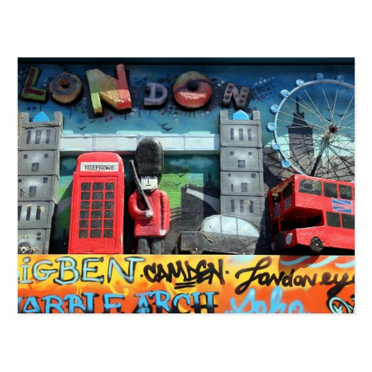London, England Postcard