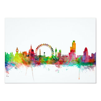 London England Skyline Card
