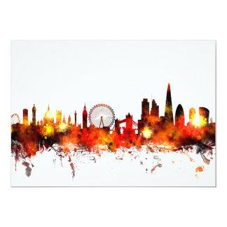 London England Skyline Card