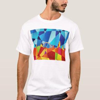 London England Skyline Cityscape T-Shirt