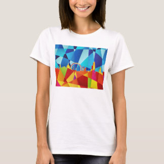 London England Skyline Cityscape T-Shirt