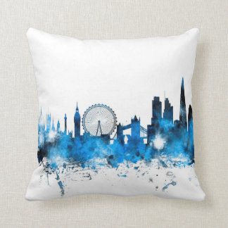 London England Skyline Cushion