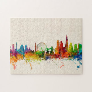 London England Skyline Jigsaw Puzzle