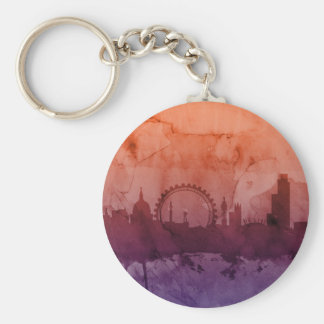 London England Skyline Key Chain