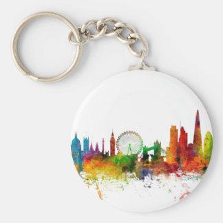 London England Skyline Key Chains