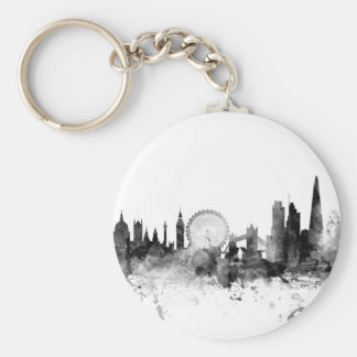 London England Skyline Key Ring
