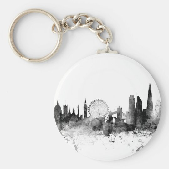 London England Skyline Key Ring