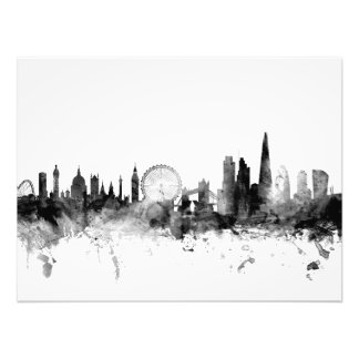 London England Skyline Photo Print