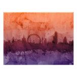 London England Skyline Photograph