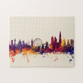 London England Skyline Puzzle