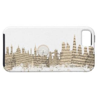 London England Skyline Sheet Music Cityscape iPhone 5 Covers