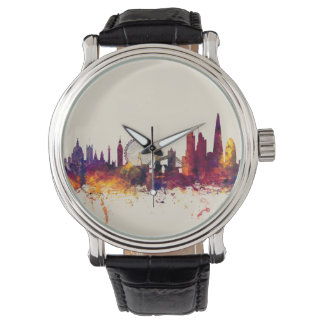 London England Skyline Wristwatch