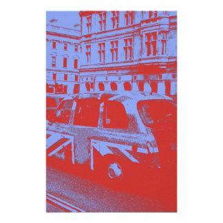 London England Customized Stationery