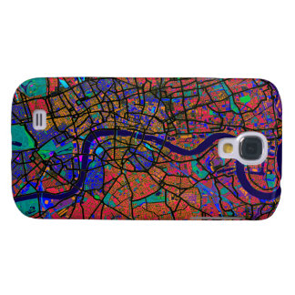 London England Street Map Galaxy S4 Case
