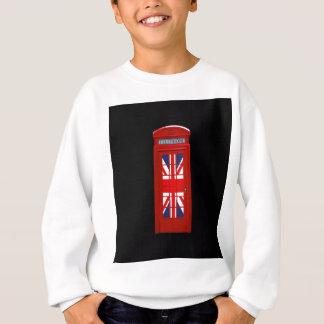 London England telephone box Sweatshirt