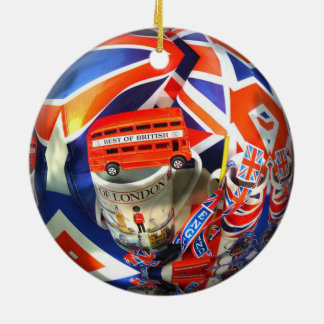 London England Tourist Attractions Christmas Ornament