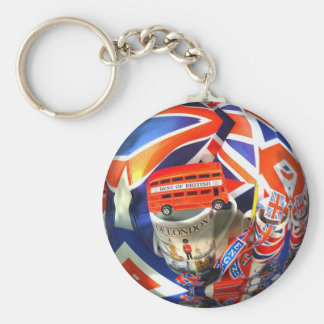 London England Tourist Attractions Keychains