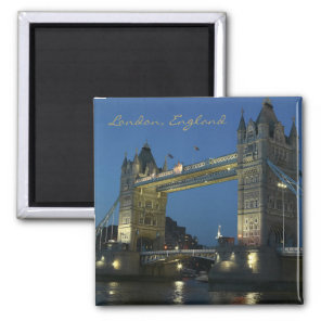 London England Travel Photo Souvenir Fridge Magnet