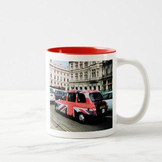 London England Two-Tone Coffee Mug