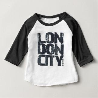 London, England Typography Baby T-Shirt