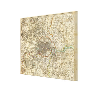 London environments gallery wrapped canvas