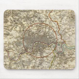 London environments mouse mat
