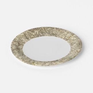 London environments paper plate