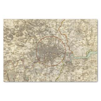 London environments tissue paper