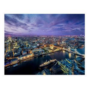 London Evening Postcard