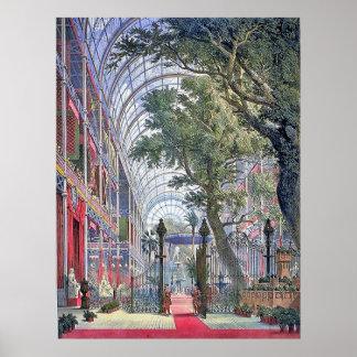 London Exhibition Vintage Poster