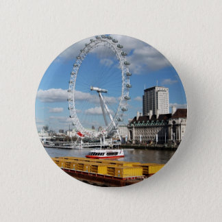 London Eye 6 Cm Round Badge