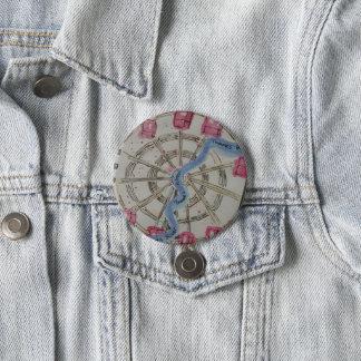 London eye 7.5 cm round badge