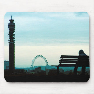 London Eye and Ears Mouse Pad