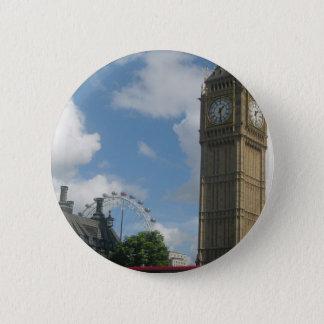 London Eye & Big Ben 6 Cm Round Badge