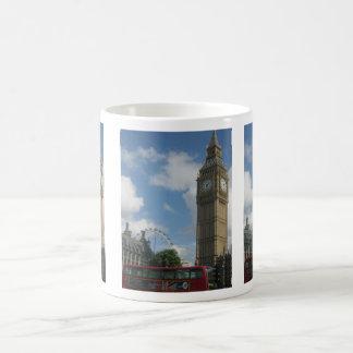 London Eye & Big Ben Basic White Mug