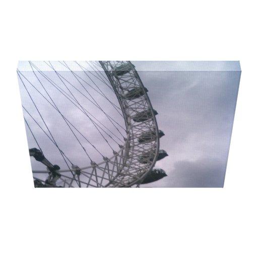 London Eye Stretched Canvas Prints