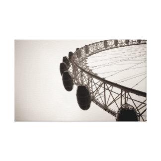 London eye gallery wrap canvas