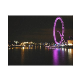 London Eye Canvas Picture Gallery Wrapped Canvas