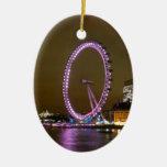 London Eye Ceramic Oval Decoration