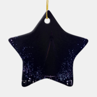 London eye ceramic star decoration