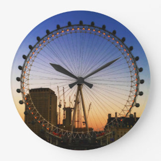 London Eye circle Wall Clock