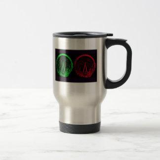 London Eye Collage-I Stainless Steel Travel Mug