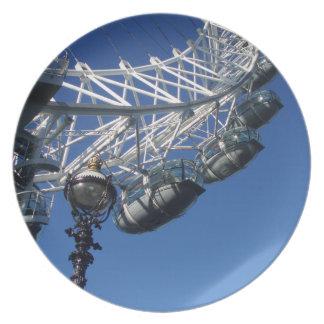 London Eye dinner/decorative plate