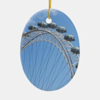 London eye ferris wheel christmas ornament
