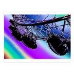 London Eye Ferris wheel Postcard