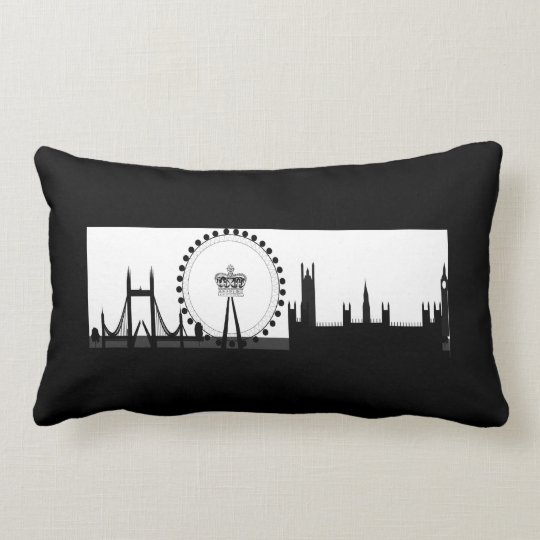 London Eye Ferris Wheel Skyline London Pillow