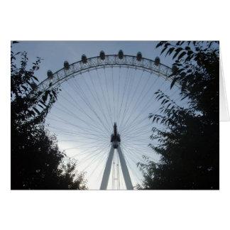 London Eye Greetings Card