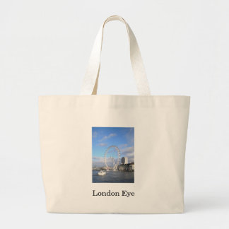 London Eye Large Tote Bag